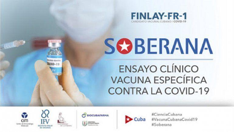 Cuba está cerca de patentar la vacuna contra el covid Soberana 02