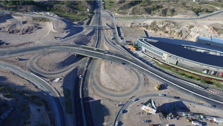 La ciudad construye nuevas conexiones con el nodo vial de Ruta 7