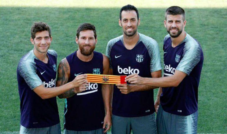 Los referentes del Barcelona