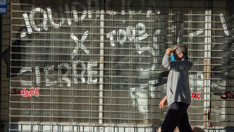 Casi un 10% de los comercios de Neuquén cerraron por la pandemia