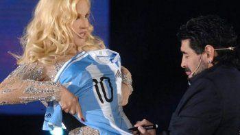Susana Giménez: El mundo llora tu partida, Diego