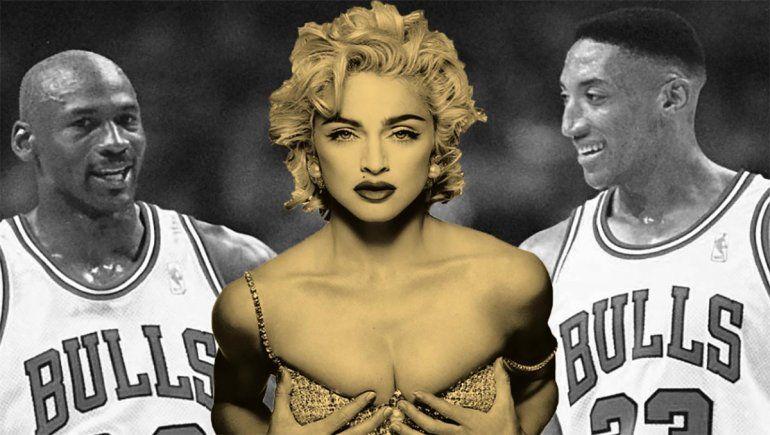 El día que Madonna rechazó a Michael Jordan por Scottie Pippen