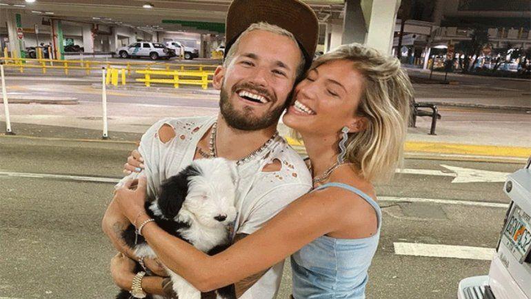 Instagram: mirá el apasionado beso de Ricky Montaner y su novia