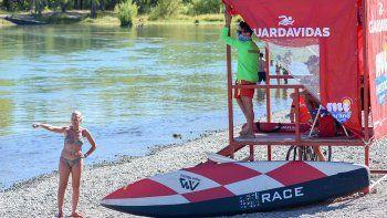 Botes y kayaks generan la mayor cantidad de rescates en el Limay