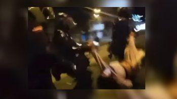 el suicidio de una joven abusada por policias genero nuevas protestas y otro muerto