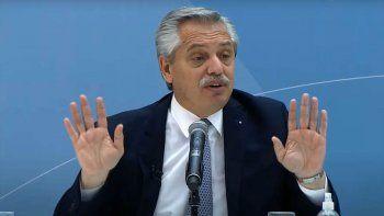Alberto: No seamos tontos, no vamos a alternar el camino empezado en 2019