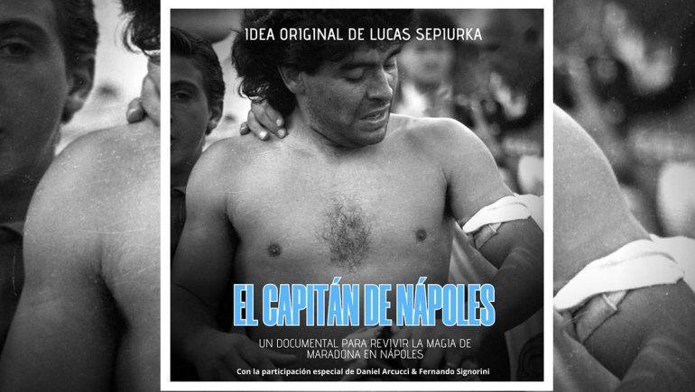 El Capitán de Nápoles, el documental que muestra la locura por Diego en su tierra prometida