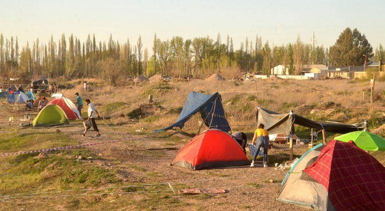El Municipio denunció toma de terrenos en Parque Industrial