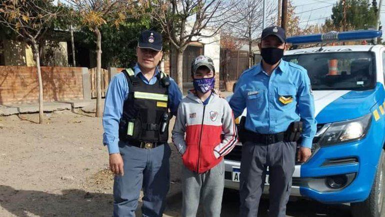 Thiago y su sueño de ser policía, una historia de superación ante la discapacidad