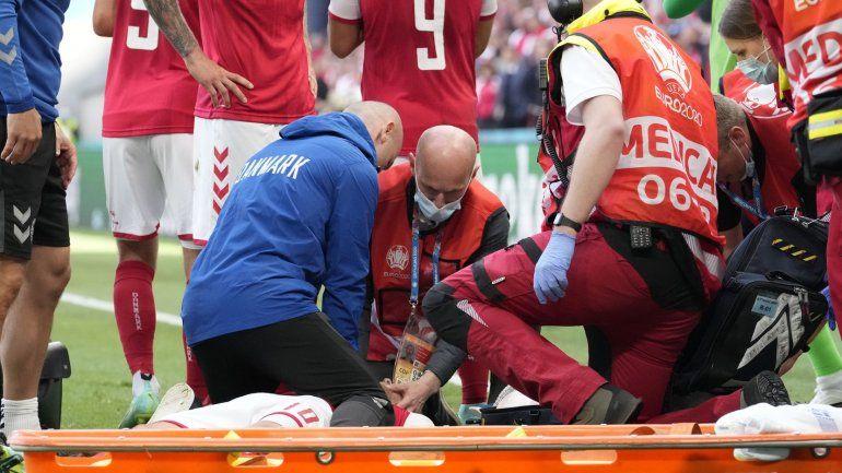 Escalofriante relato del médico que asistió a Eriksen: Se había ido