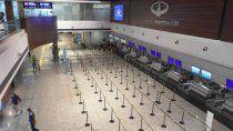 reabrieron el aeropuerto de mendoza y un paso limitrofe