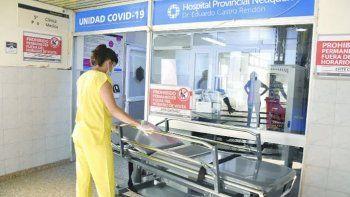 La ocupación de camas de terapia intensiva está al 73%.