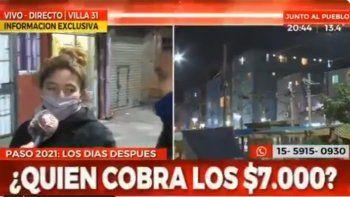 Vecina del Barrio 31 explicó por qué votó a Javier Milei