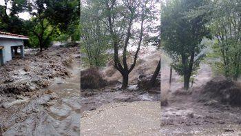 Un fuerte temporal de lluvia afectó a una parte de Córdoba