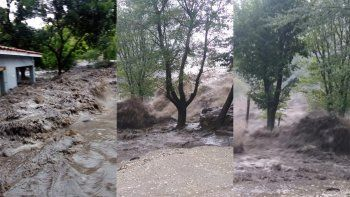 un fuerte temporal de lluvia afecto a una parte de cordoba