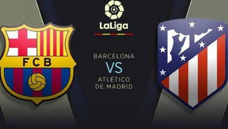 Sábado: Barcelona vs Atlético de Madrid