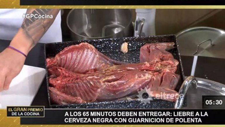 Escándalo en el Gran Premio de la Cocina por el menú de mara patagonia