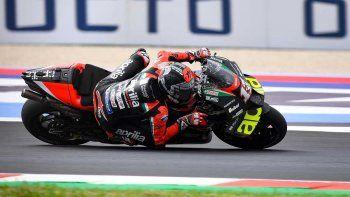 Viñales y Zarco, las referencias del viernes del MotoGP