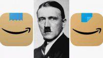 amazon cambia el logotipo de la app porque que se parece a adolf hitler