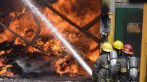 el incendio en cervi, el mas grande de los ultimos anos en neuquen