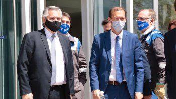 Fernández y Gutiérrez lanzan el Plan Gas.Ar en Buenos Aires