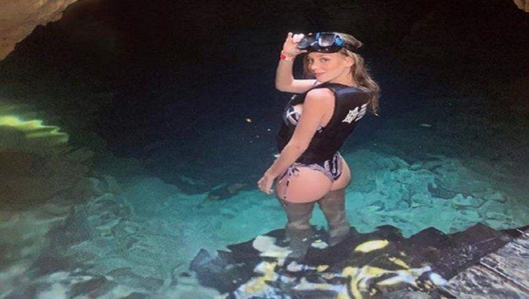Ester Expósito sueña con bucear entre tiburones blancos.