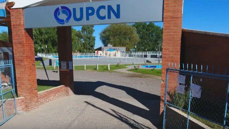 Predio de UPCN en el barrio Piscicultura de Plottier.