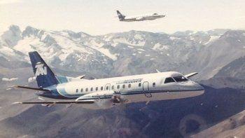 la historia de la aerolinea neuquina y el desconocido aeropuerto de caviahue