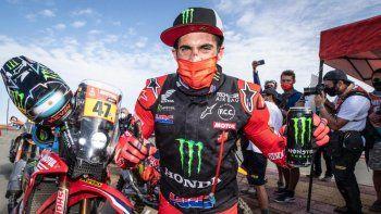 Kevin Benavides evalúa sus opciones a futuro tras el Dakar 2021