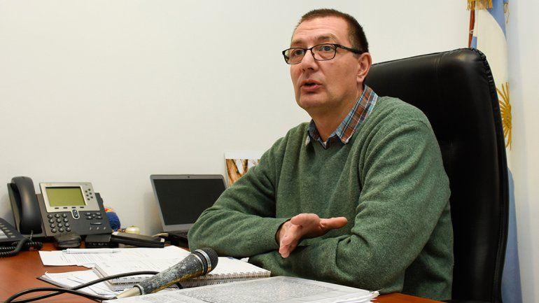 Francisco Zambón, presidente del EPEN.