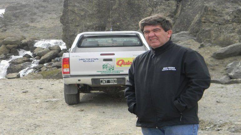 Daniel Chasco, presidente de la Federación Neuquina de Automovilismo.