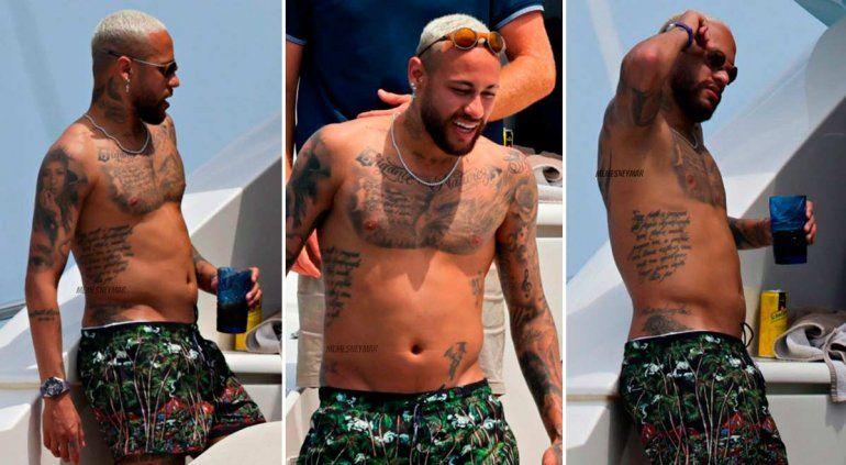 ¿Se comió y tomó todo? El cambio de físico de Neymar que preocupa al PSG