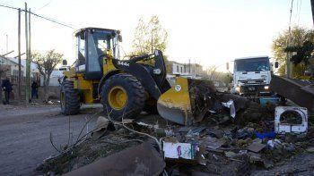 Operativo puerta a puerta: en un día levantaron 141 mil kilos de residuos