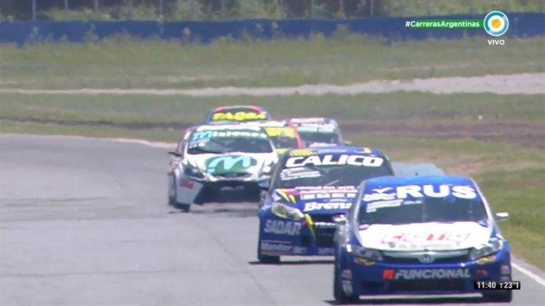 Urcera salió segundo en la carrera de invitados