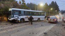 impactante accidente en la ruta que lleva al llao llao