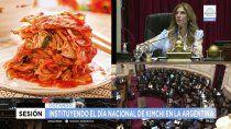 kimchi: el polemico proyecto que aprobo el senado en pleno furor de el juego del calamar