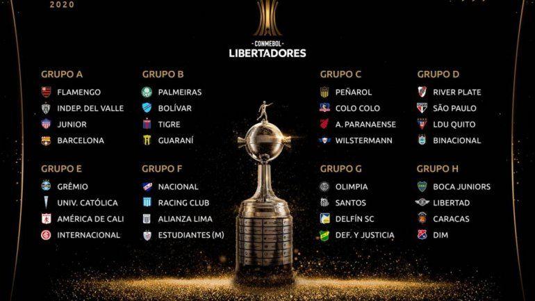 Copa Libertadores: posibles choques en octavos de final