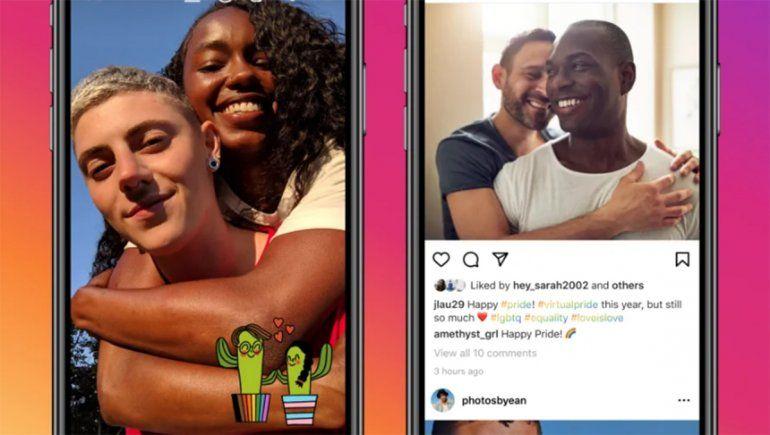 Instagram y Facebook celebran el mes del Orgullo LGBTIQ+ con nuevas características