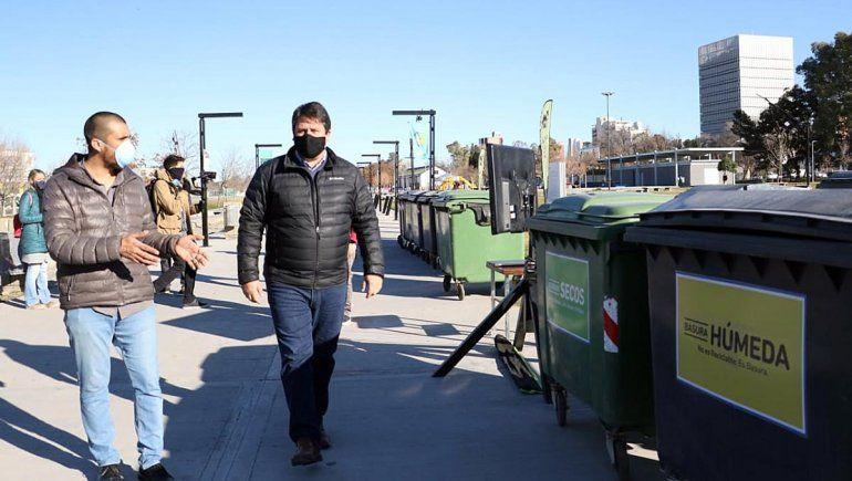 Limpieza: invierten $3 millones en 300  contenedores más