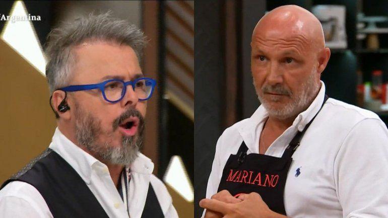 MasterChef : la caliente discusión entre Dalla Libera y Donato que casi termina mal
