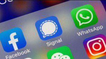 apps para mensajes: que es signal y en que se diferencia de whatsapp