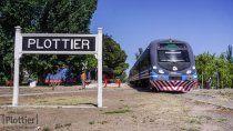el tren del valle extendera su recorrido hasta plottier antes de la fecha prevista