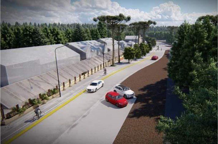 El proyecto del Paseo comercial Las Araucarias