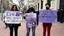 por el virus, madrid no va a permitir la marcha anual del 8m