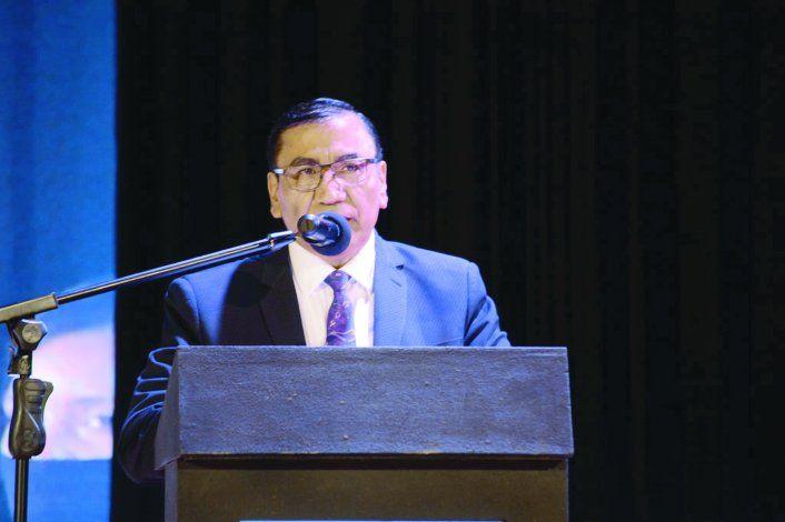 El intendente cutralquense Rioseco enfatizó el trabajo realizado en la pandemia.