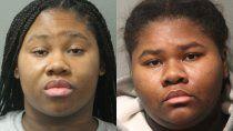 dos hermanas apunalaron a un guardia 27 veces