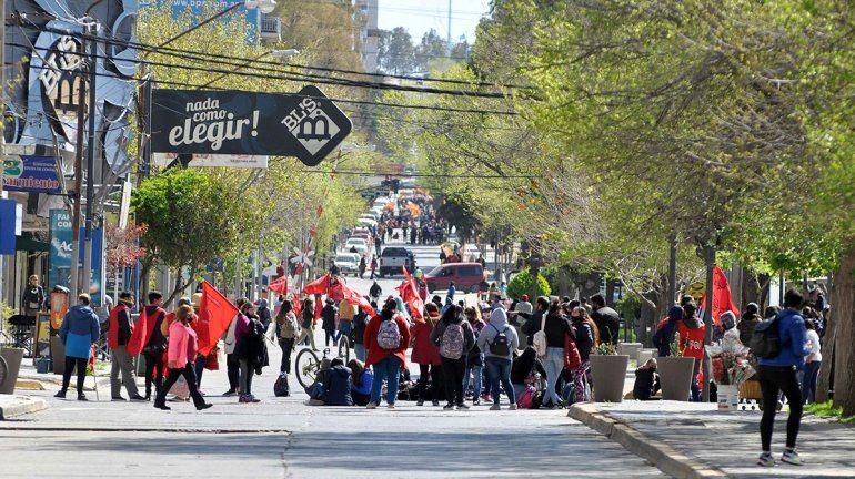 Organizaciones suspenden el corte sobre la Avenida Argentina: ¿Cuándo vuelven?