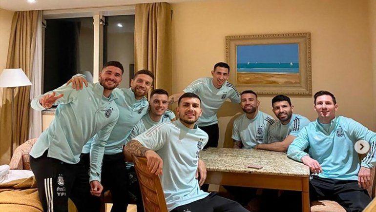 Messi y sus fotos inéditas de un viaje inolvidable con la Selección