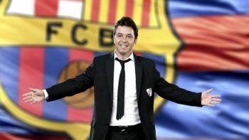 Nuevamente Marcelo Gallardo suena para dirigir al Barcelona