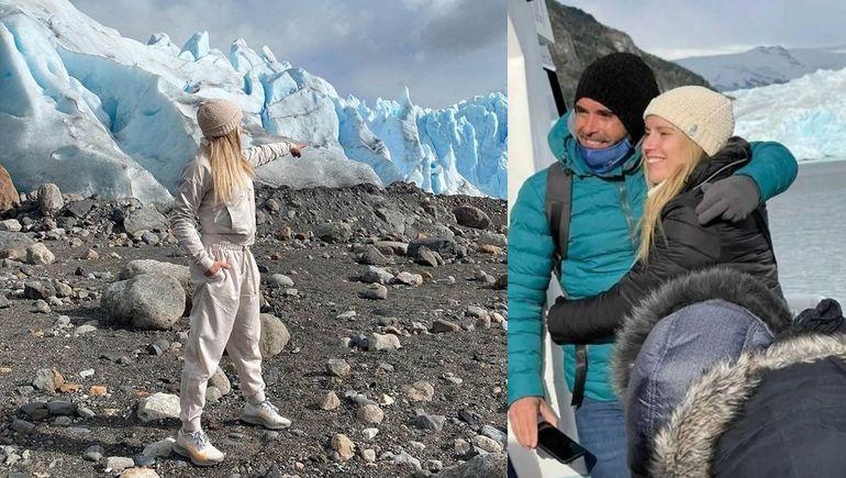 Embarazo y temblor: Laurita y Nico Cabré se fueron a El Calafate